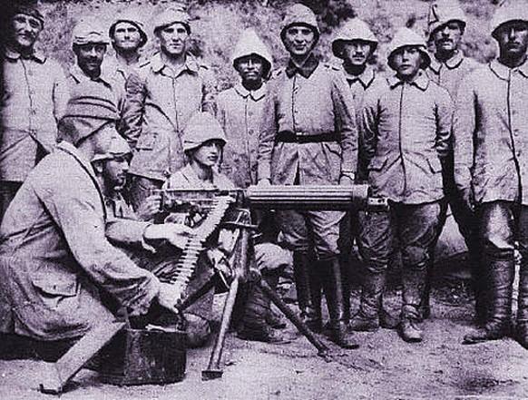 Erster Weltkrieg Türkische Soldaten Osmanisches Reich 1914