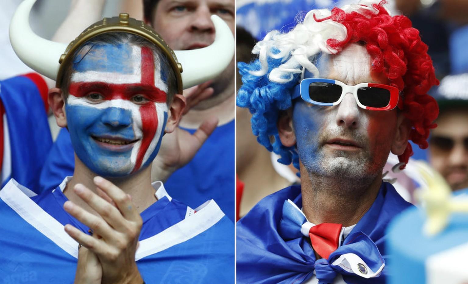 Frankreich Oder Island