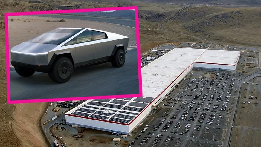 Tesla plant schon die nächste Gigafactory – für den Cybertruck