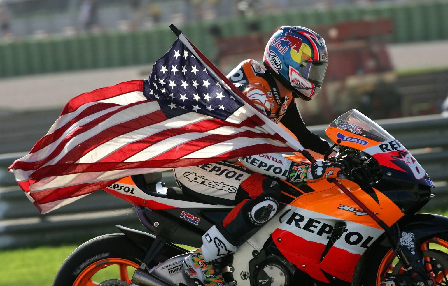 Ex-MotoGP-Weltmeister Nicky Hayden verstorben