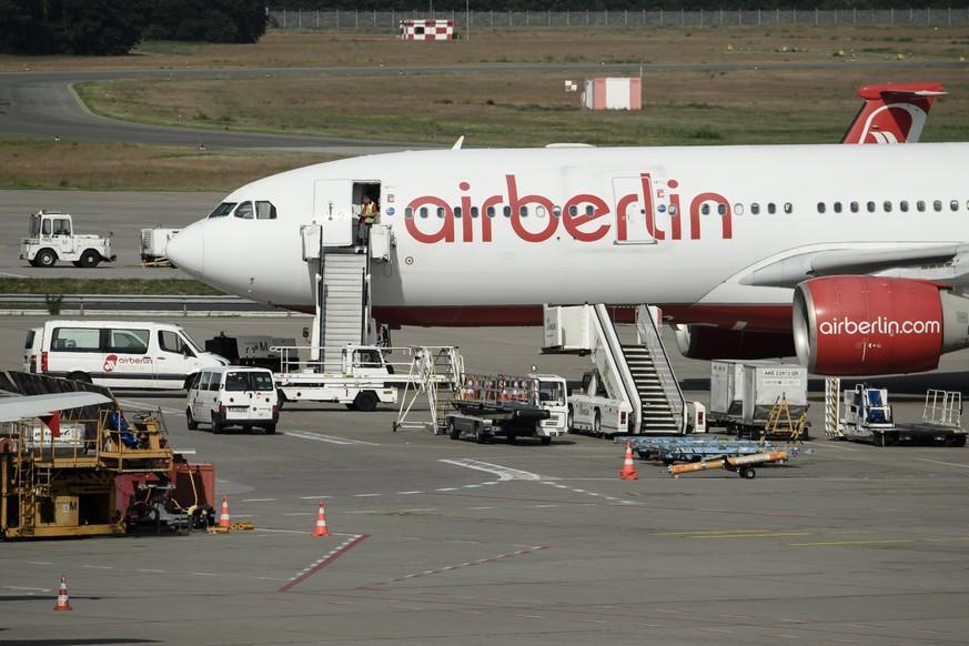 Air Berlin stellt Insolvenantrag: Flugbetrieb soll aufrecht erhalten werden