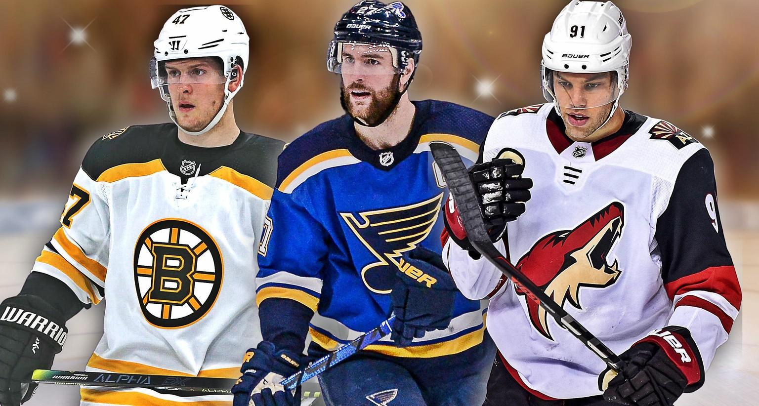 NHL Übersicht über die verrückte Free Agency 20