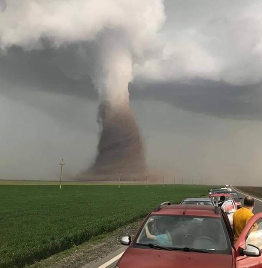 Tornado In Rumänien