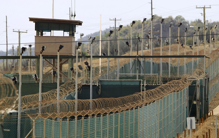The exterior of Camp Delta is seen at the U.S. Naval Base at Guantanamo Bay, in this March 6, 2013 file photo. The facility is operated by the Joint Task Force Guantanamo and holds prisoners who have been captured in the war in Afghanistan and elsewhere since the September 11, 2001 attacks. To match Special Report USA-GITMO/TRIALS REUTERS/Bob Strong/Files