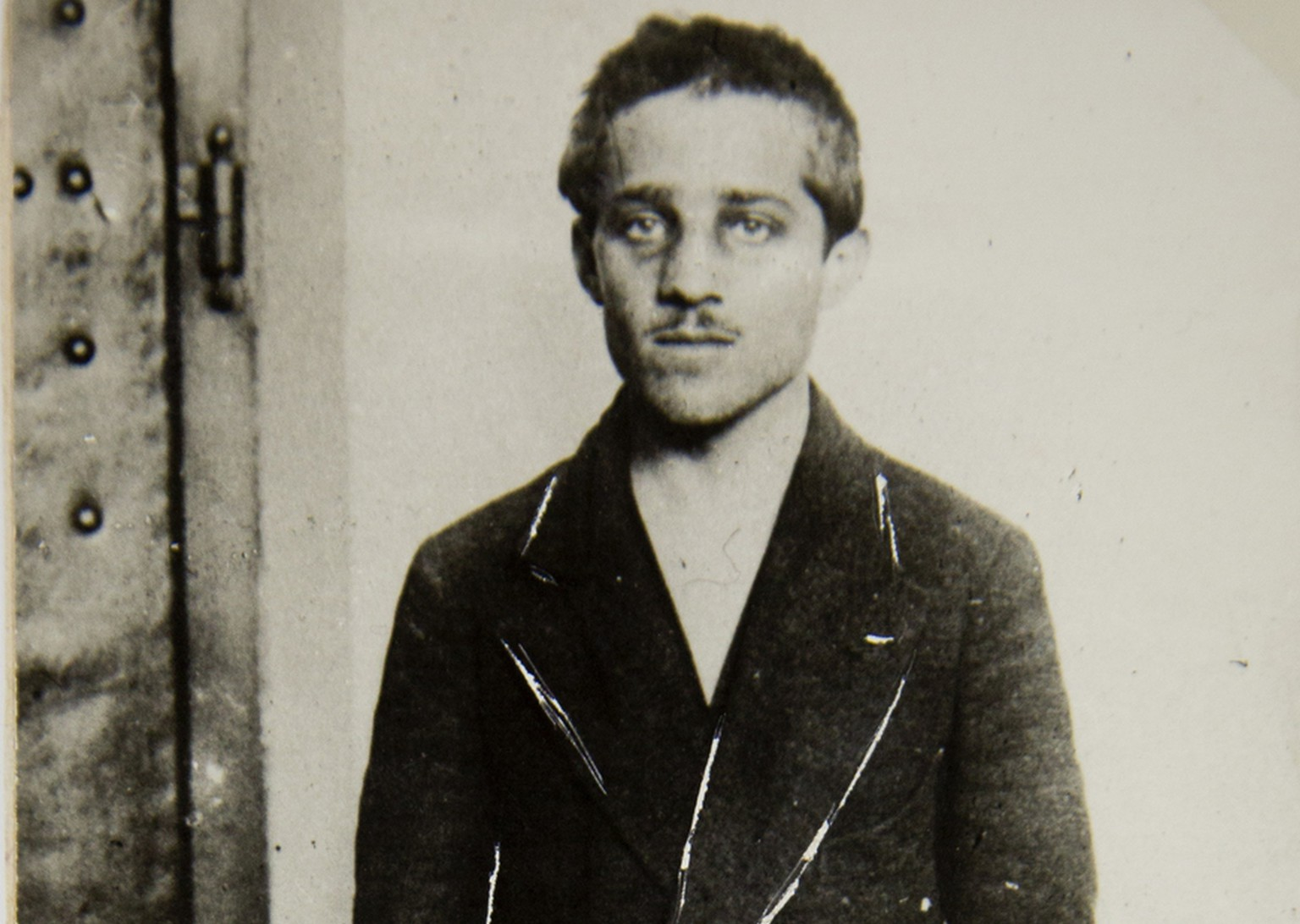 This undated photo provided by the Historical Archives Sarajevo shows Bosnian Serb Gavrilo Princip. On June 28, 1914 Gavrilo Princip fired the shots that killed Archduke Franz Ferdinand of Austria and his wife Sophie, during a visit to  the Bosnian capital of Sarajevo in 1914. (AP Photo/Historical Archives Sarajevo)