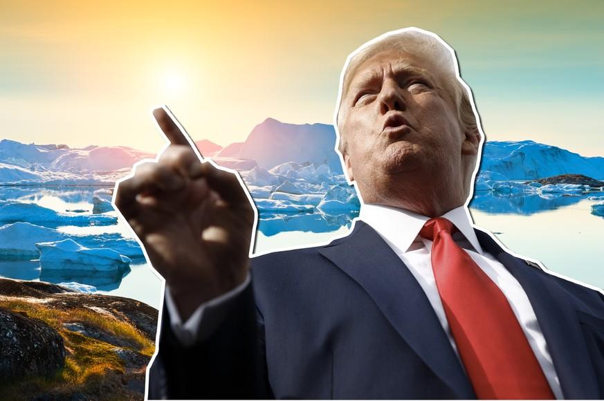 Trump würde gerne Grönland kaufen – so deutlich reagiert ein Botschafter