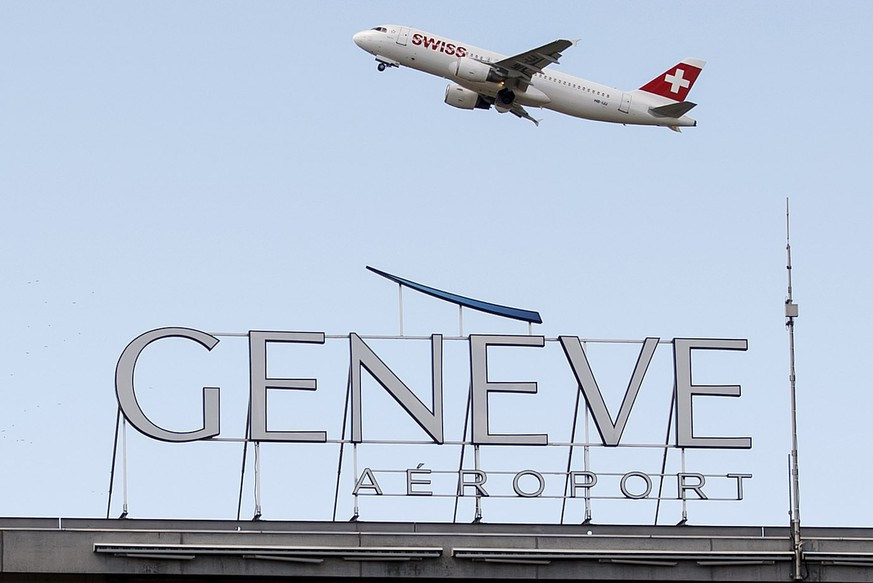 Genf Flughafen Ankunft
