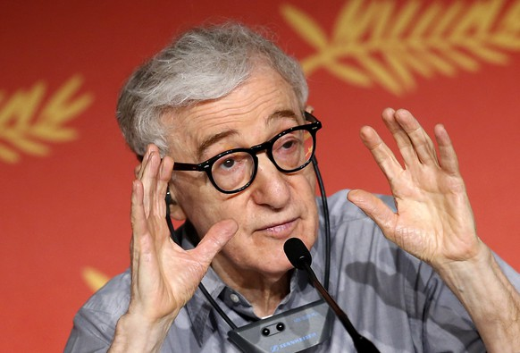 epa07785453 (FILE)  US director Woody Allen attends the press conference for 'Cafe Society' during the 69th Cannes Film Festival, in Cannes, France, 11 May 2016. It was announced on 22 August 2019 that Allen's movie 'A Rainy Day in New York' will open the Deuville Film Festival on 06 September.  EPA/SEBASTIEN NOGIER *** Local Caption *** 52748215