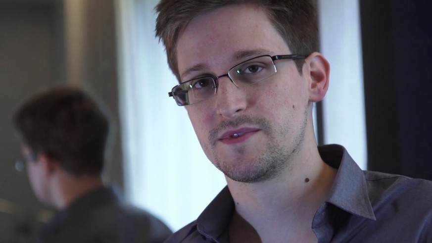 epa07841832 (FILE) - A video grab courtesy of The Guardian newspaper showing former CIA employee Edward Snowden during an exclusive interview with the newspaper's Glenn Greenwald and Laura Poitras in Hongkong, in June 2013 (reissued 14 September 2019). US whistleblower Edward Snowden will release a new book titled 'Permanent Record' on 17 September 2019.  EPA/GLENN GREENWALD / LAURA POITRAS / THE GUARDIAN HANDOUT MANDATORY CREDIT: THE GUARDIAN/GLENN GREENWALD/LAURA POITRAS HANDOUT EDITORIAL USE ONLY/NO SALES *** Local Caption *** 50867823