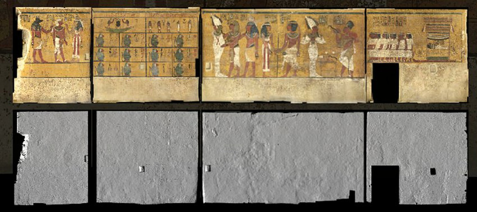 Neues Grab im Tal der Könige 