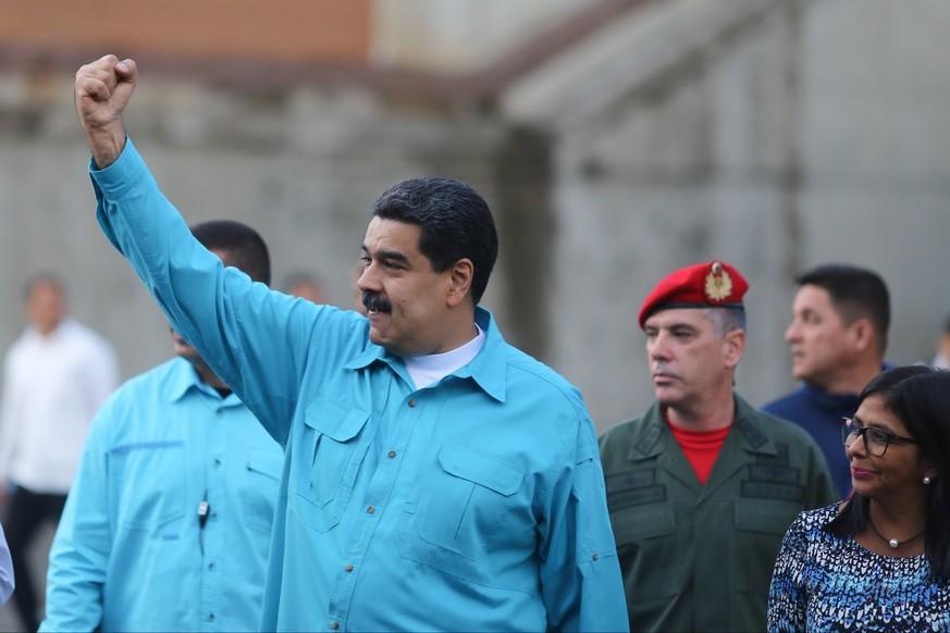 Maduro droht der Opposition mit Ausschluss von Präsidentenwahl