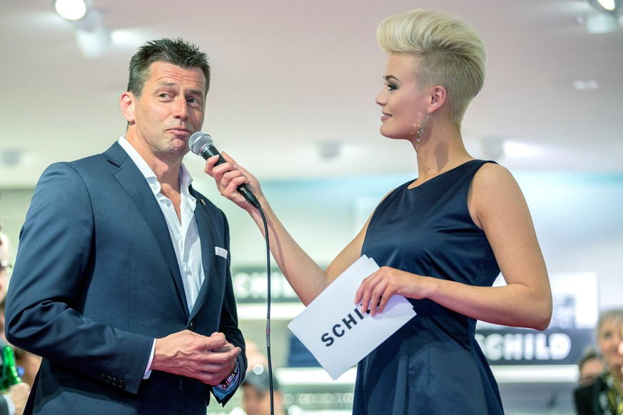 27.03.2014; Zuerich; Fussball Super League - Grasshopper Club Zuerich - Schild Fashion Anlass 2014;