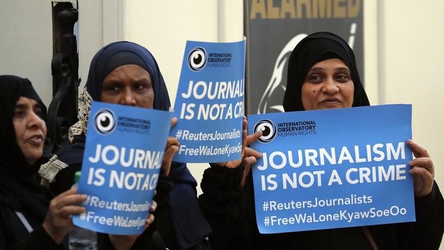 Ein trauriges Jahr für den Journalismus: 80 Menschen wurden getötet, 348 inhaftiert