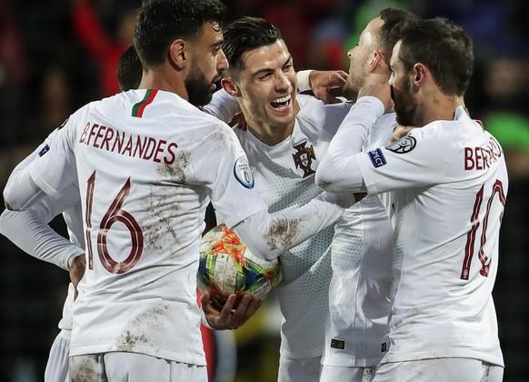 Ronaldo verpasst 100. Portugal-Treffer knapp – dafür ist er an der EM dabei