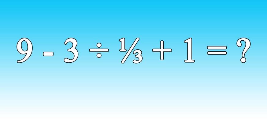 Mathe: Keiner schafft diese Rechnung beim ersten Mal