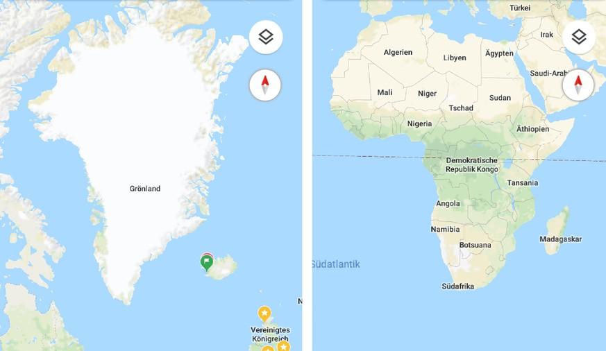 Google Maps stellt Erde neu als Kugel dar - watson on