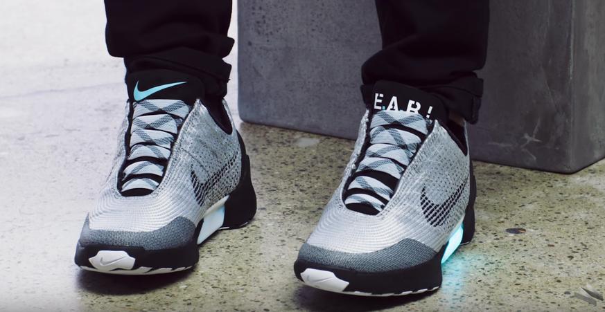crazy price super popular nice shoes HyperAdapt 1.0: Die selbstschnürenden Turnschuhe von Nike ...