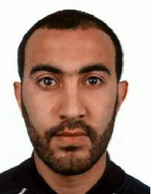 epa06012307 An undated handout photo made available on 05 June 2017 by Britain's London Metropolitan Police Service (MPS) showing Rachid Redouane one of the men shot dead by police following terrorist attack in London on 03 June 2017. At least seven members of the public were killed and dozens injured after three attackers on late 03 June ploughed a van into pedestrians and later randomly stabbed people on London Bridge and nearby Borough Market. The three attackers wearing fake suicide vests were shot dead by police.  EPA/LONDON METROPLITAN POLICE/ HANDOUT  HANDOUT EDITORIAL USE ONLY/NO SALES