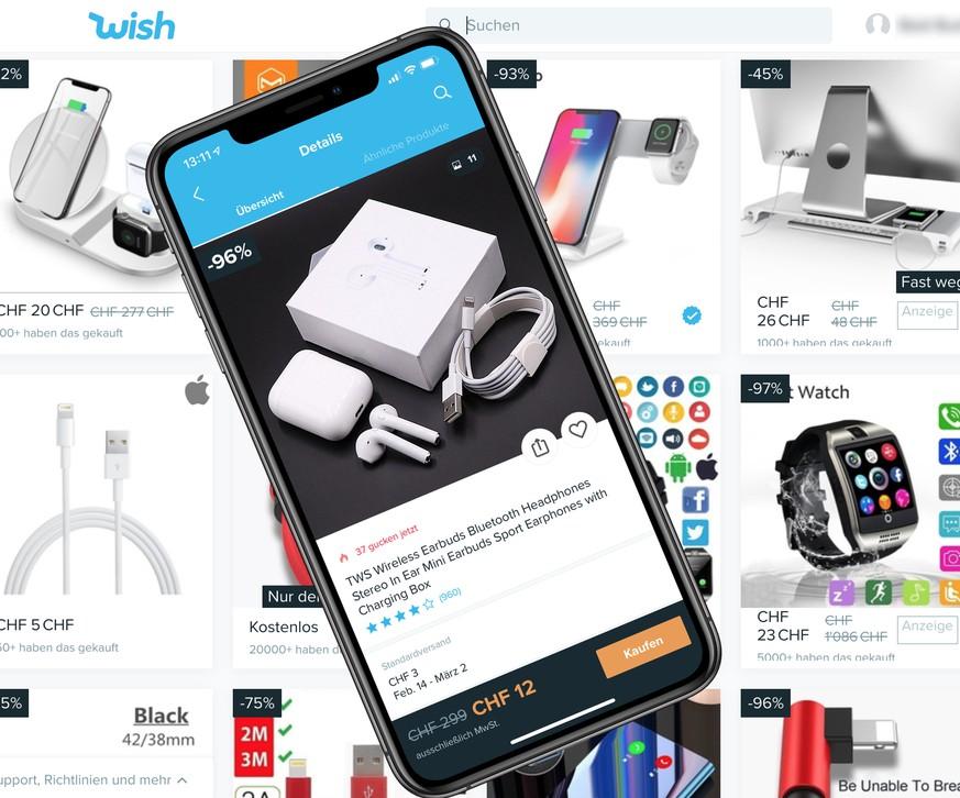 Wish App Billigprodukte Aus China Kaufen Watson