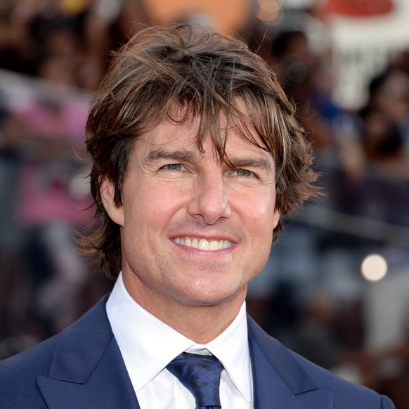 FILE - In this July 27, 2015 file photo, Tom Cruise attends the premiere of