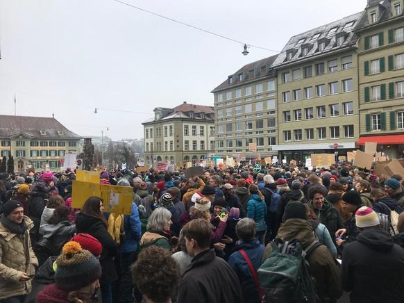 Klimademo 2.2.2019, Bern
