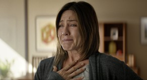 This image released by Cinelou Films shows Jennifer Aniston in a scene from