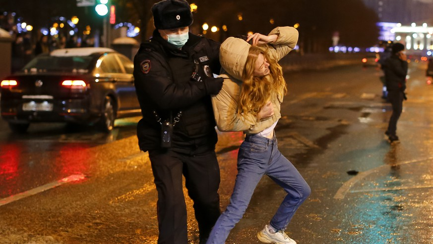 Nach Nawalny die Demonstranten: Trotz Tausender Verhafteten will die EU keine Sanktionen