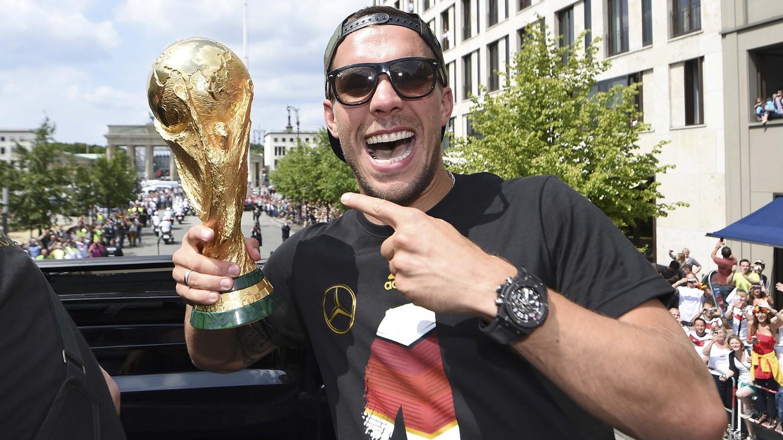 Podolski-Abschied beim Prestigeduell gegen England