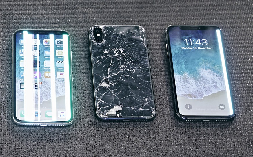 Iphone x rückseite tauschen