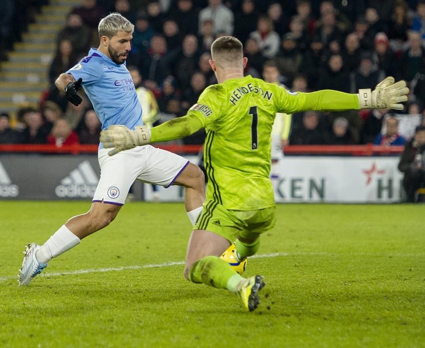 Manchester City gewinnt dank Sergio Agüero – Newcastle holt auf