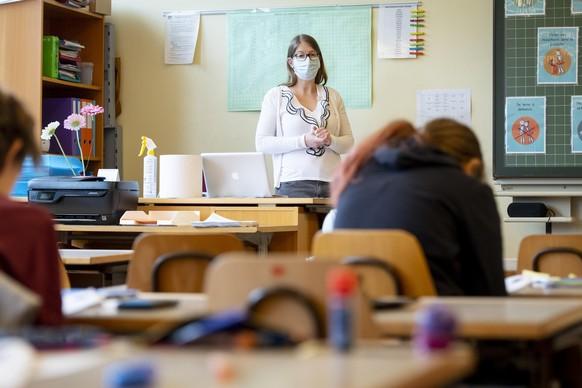 SWITZERLAND CORONAVIRUS OUTBREAK SCHOOL