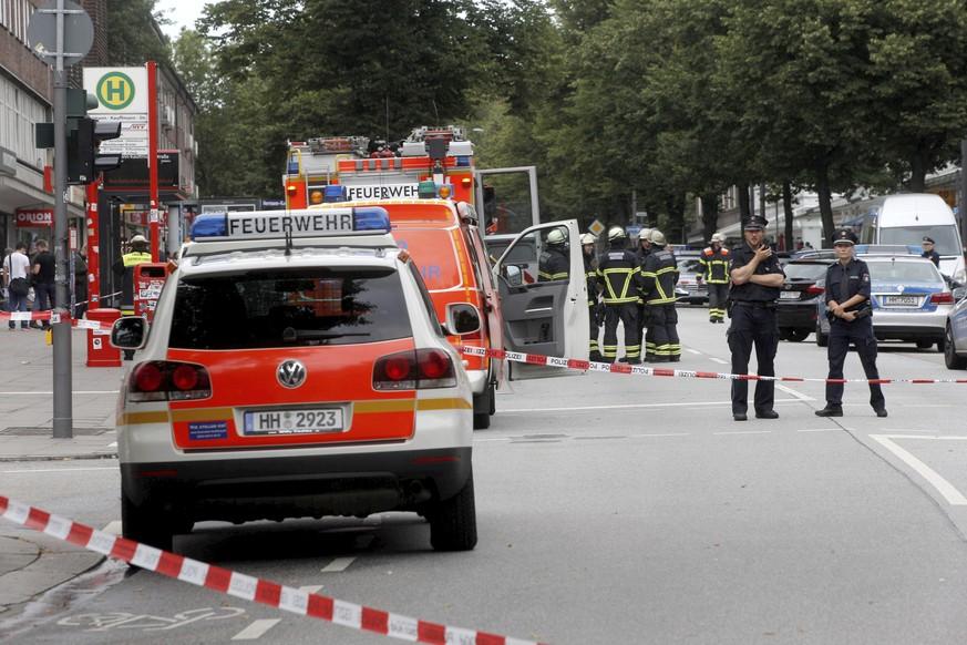 Messerstecher von Hamburg war der Polizei bekannt
