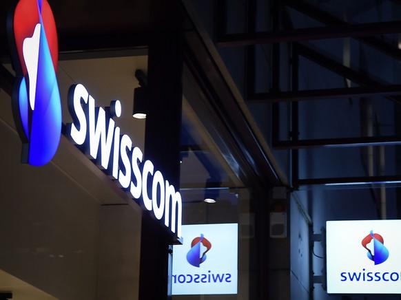 Die Swisscom hat ihre Zahlen für 2019 vorgelegt: ein Shop des Konzerns in Zürich Oerlikon (Archivbild).
