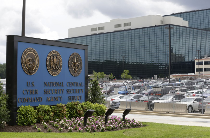 FILE - In this June 6, 2013 file photo, the National Security Agency (NSA) campus in Fort Meade, Md. Russian hackers attacked at least one U.S. voting software supplier days before the 2016 presidential election, according to a classified NSA report leaked Monday, June 5, 2017, that suggests election-related hacking penetrated further into U.S. voting systems than previously known. The report, which was published online by The Intercept, does not say whether the hacking had any effect on election results. (AP Photo/Patrick Semansky, File)