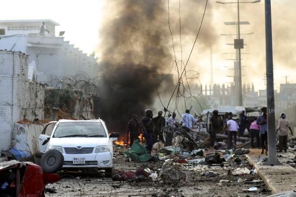 Tote bei Anschlag in Mogadischu