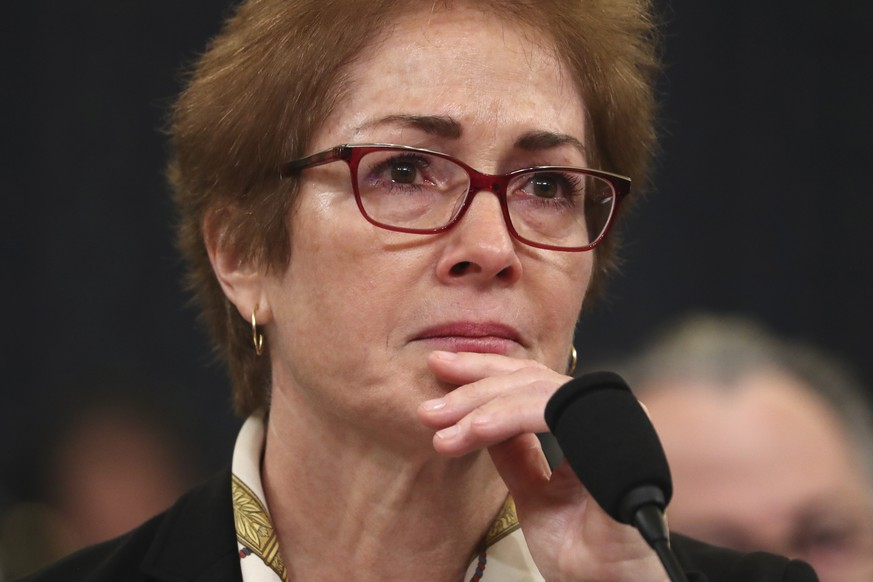 USA: Wollte Donald Trump Marie Yovanovitch loswerden?