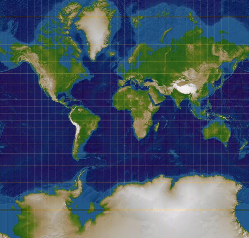 Usa Karte Ohne Staaten.16 Landkarten Die Zeigen Wie Gross Länder Wirklich Sind Watson