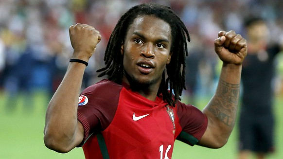 epa05400450 Renato Sanches of portugal react after the UEFA EURO 2016 quarter final match between Poland and Portugal at Stade Velodrome in Marseille, France, 30 June 2016.    (RESTRICTIONS APPLY: For editorial news reporting purposes only. Not used for commercial or marketing purposes without prior written approval of UEFA. Images must appear as still images and must not emulate match action video footage. Photographs published in online publications (whether via the Internet or otherwise) shall have an interval of at least 20 seconds between the posting.)  EPA/GUILLAUME HORCAJUELO   EDITORIAL USE ONLY