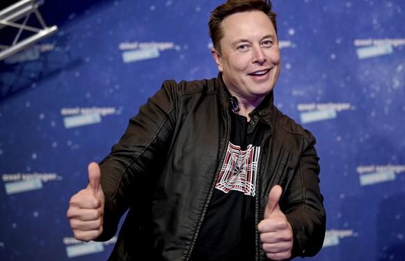 Grund zur Freude für Elon Musk.