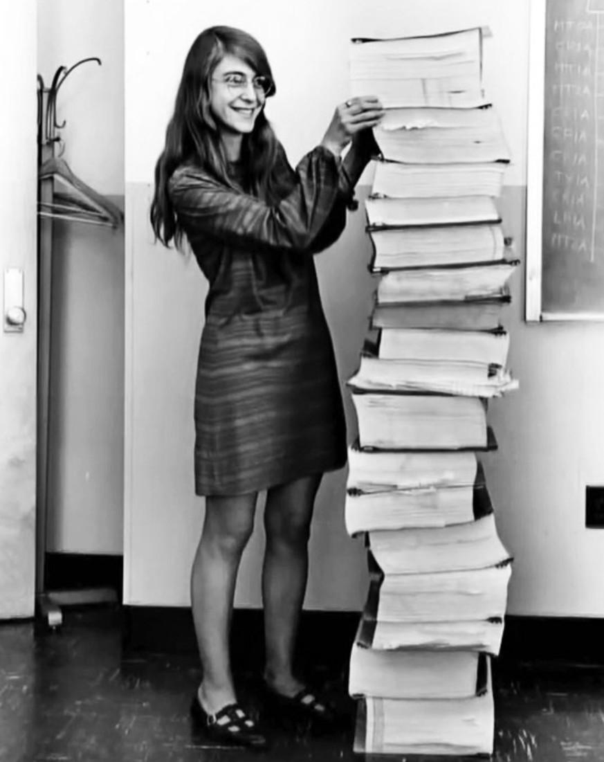 Die Frau, die die Männer auf den Mond schoss (und sicher zurückbrachte)
