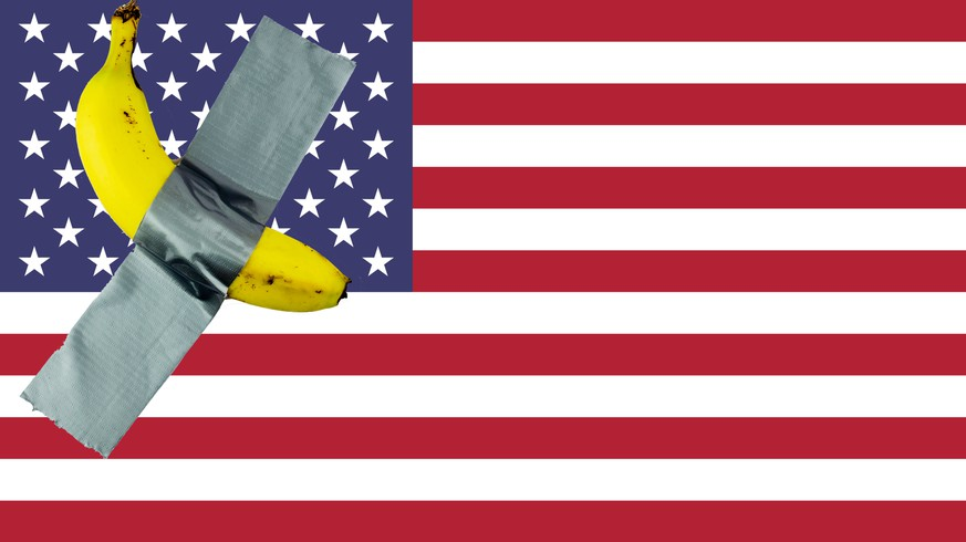Die USA eine Bananenrepublik? Die jüngsten Ereignisse lassen keinen anderen Schluss zu.