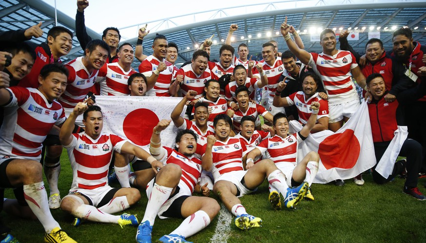 Rugby Union - South Africa v Japan - IRB Rugby World Cup 2015 Pool B - Brighton Community Stadium, Brighton, England - 19/9/15