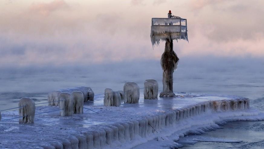 Kälteeinbruch usa