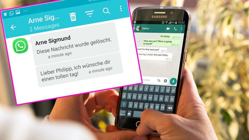 Mit Diesem Whatsapp Trick Kannst Du Vom Absender Gelöschte
