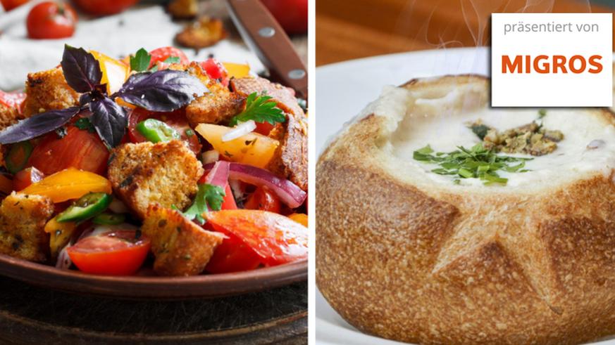 Mehr als Schinken-Sandwiches – 13 geile Rezepte mit Brot