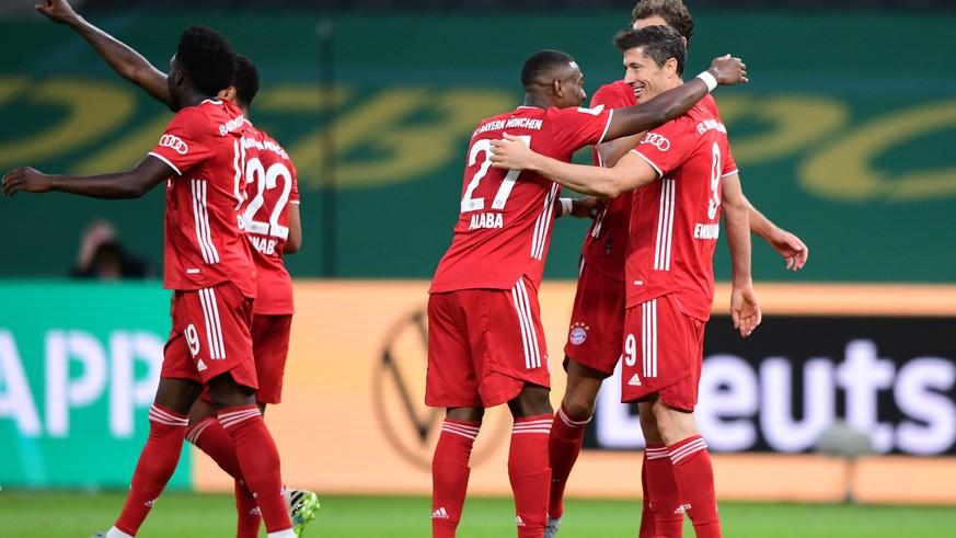 Bayern lassen Leverkusen im Pokal-Finale keine Chance und holen das Double
