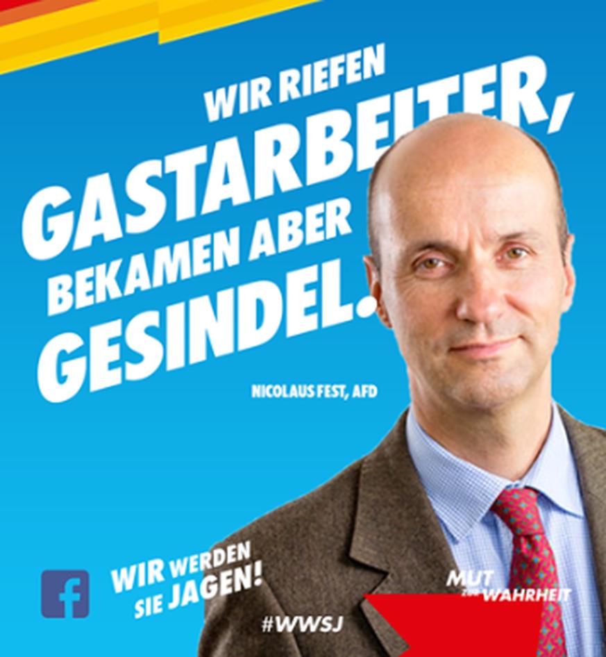 AfD: Wie die Kampagne #Gesindel das wahre Gesicht der Partei aufzeigt