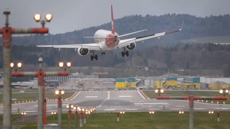 Flugzeuglandungen