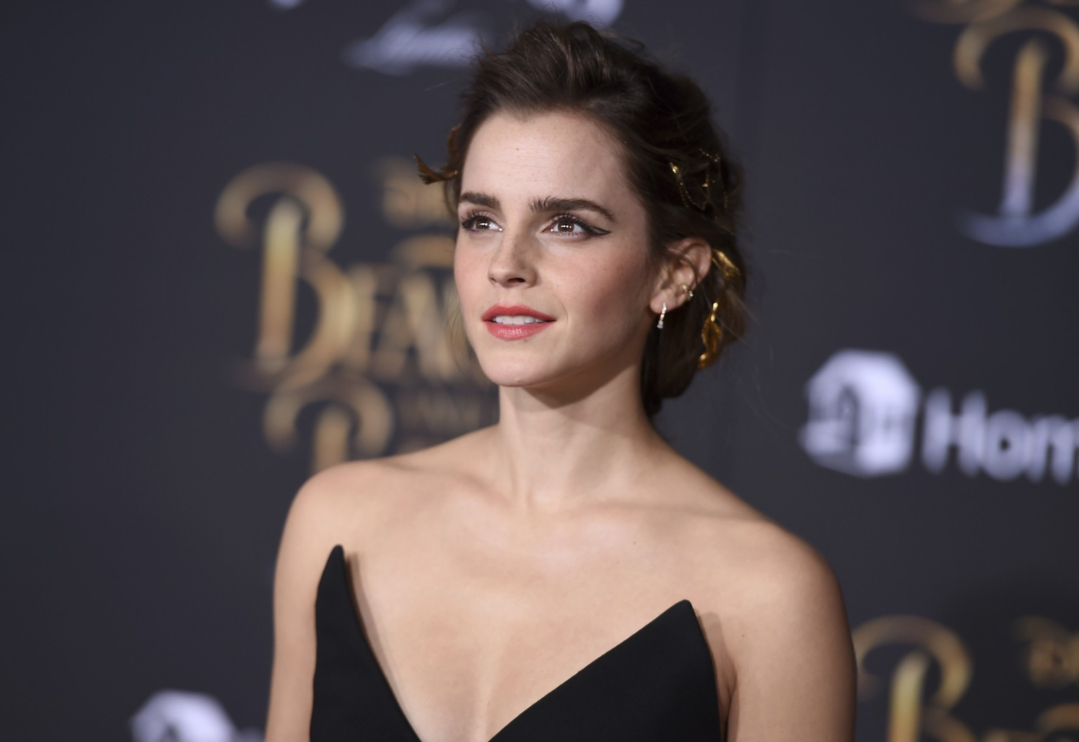 Emma Watson arrives at the world premiere of