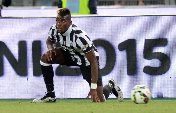 Rom, 20.5.2015, Cupfinal Italien, Juventus Turin - Lazio Rom, Juves Paul Pogba  (Alessandro Sabattini/IPP/EQ Images) SWITZERLAND ONLY